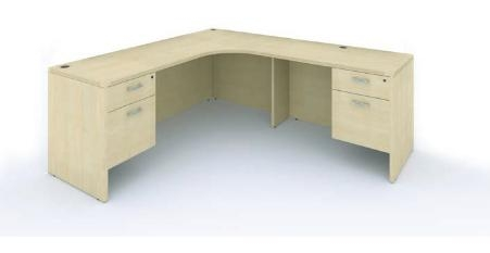 cherryman amber l shaped desk am-398