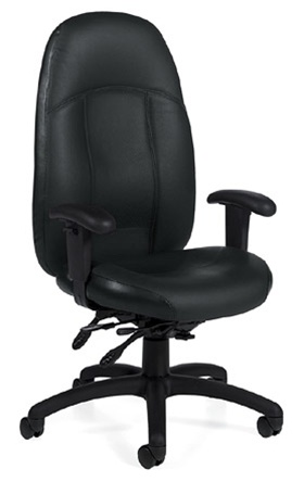Global Tamiri Leather Chair 4520-3