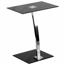 Flash Furniture Laptop Computer Desk with Tempered Glass Top
