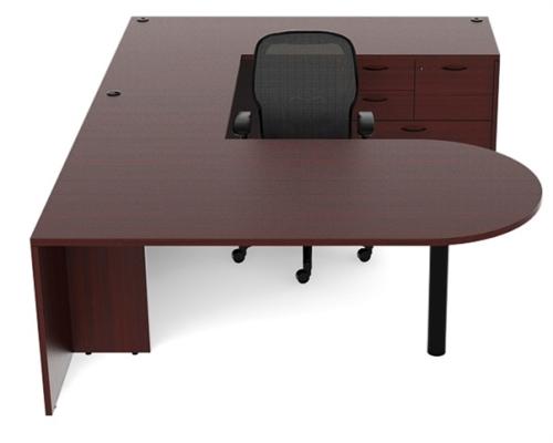cherryman amber am-364n u shaped desk