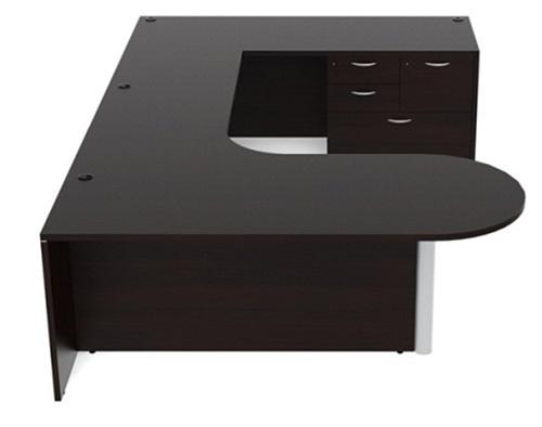 am-366 amber u shaped desk