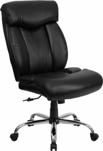 Flash Furniture Leather Big & Tall Office Chair (350 lb. Capacity)
