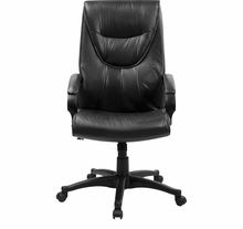 Flash Furniture Leather Conference Chair BT-238-BK-GG