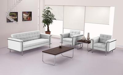 Flash Furniture Lesley Leathe Reception Furniture Set