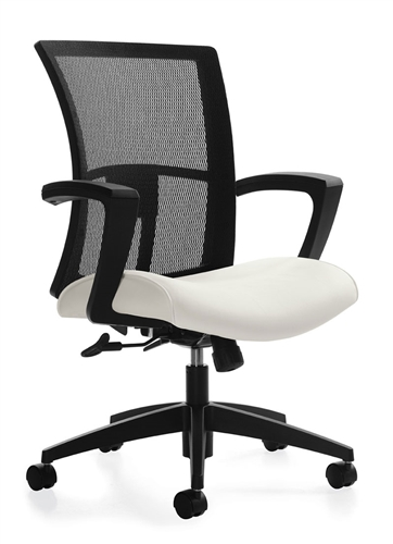 Global Total Office 6322-4-C Vion Mid Back Ergonomic Conference Chair
