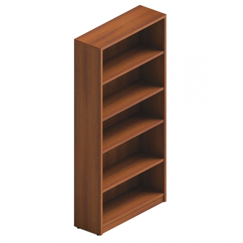 Global Total Office ABC72 Adaptabilities Bookcase with Avant Honey Finish