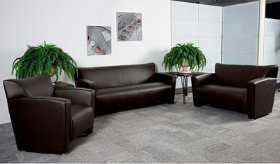 Flash Furniture Majesty Brown Lounge Furniture Set