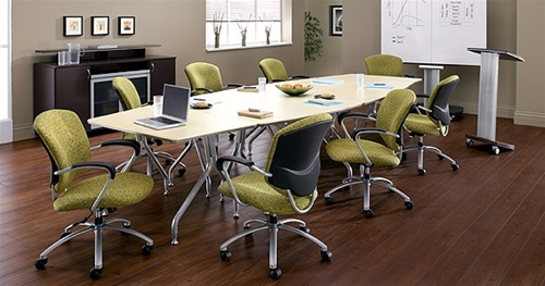 Global Total Office BK180F 15' Bungee Table Set
