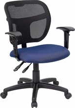 FL-WL-A7671SYG-NVY-A-GG-Flash Furniture Mesh Computer Chair with Arms
