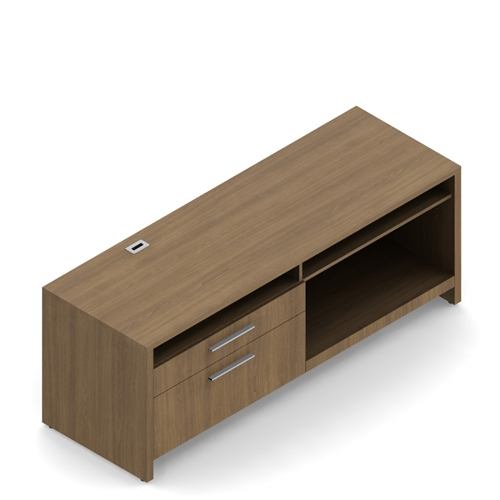 Global Total Office Princeton Series PN2772CPR Executive Credenza (2 Finish Options!)