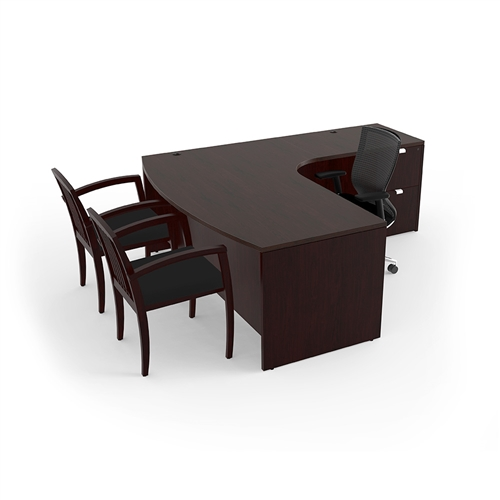 cherryman jade l shaped office desk ja-113r