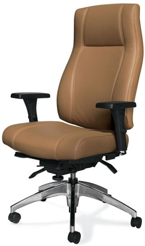 Global Triumph High Back Leather Executive Chair 3650-3