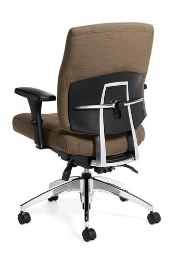 Global Triumph Mid Back Task Chair 3651-3