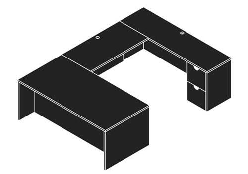 cherryman model ja-127n u desk line drawing
