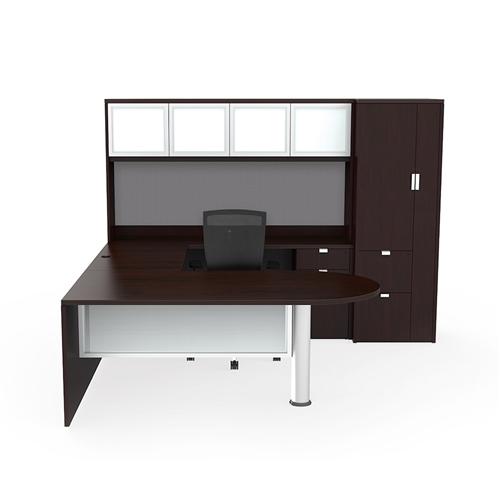 cherryman jade executive u desk ja-156n