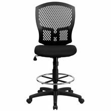 Flash Furniture Mid Back Designer Drafting Stool