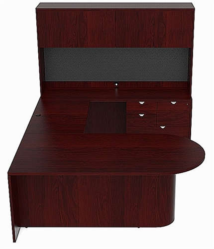 cherryman jade series u shaped executive desk