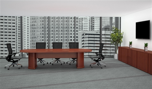 Cherryman Ruby Collection 10' Racetrack Conference Table RU-251N