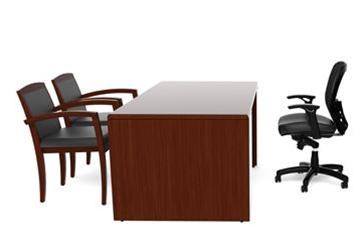 "Cherryman Ruby Collection 66"" Rectangular Office Desk RU-201N"