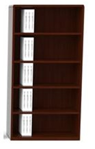 Cherryman Ruby Collection Cherry Bookcase R829