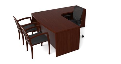 Cherryman Ruby Collection Executive Desk RU-213R