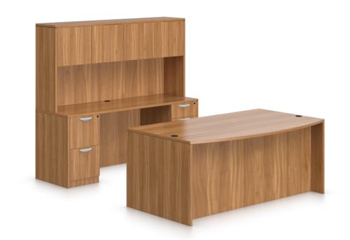 Autumn Walnut Superior Laminate Desk Set SL-I by OTG