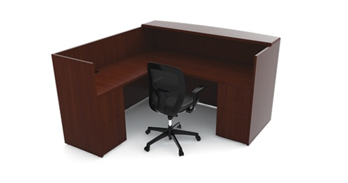 Cherryman Ruby Reception Desk RU-223N