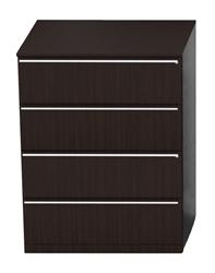 Cherryman Verde 4 Drawer Modern Lateral File Cabinet V927L