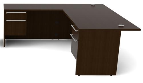 Cherryman Verde Collection 6' Executive L-Desk VL-619N