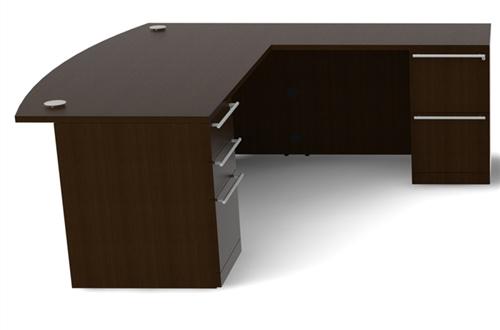 Cherryman Verde Collection Executive Office Desk VL-625N