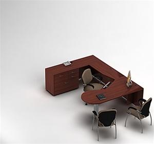 Global Zira Collaborative U-Desk