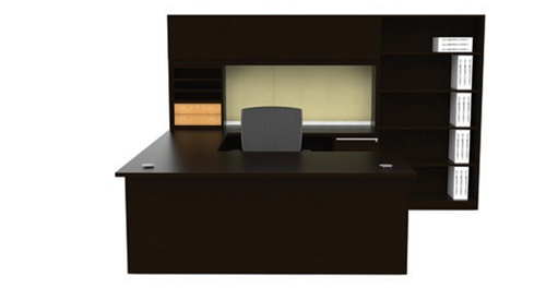 Cherryman Verde Executive Desk Configuration VL-691N