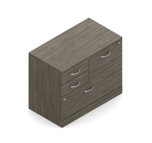 Global Zira Collection Mixed Storage Cabinet Z36M2XL