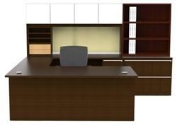 Cherryman Verde Series Straight Front U Desk Configuration VL-731N