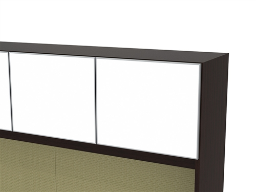 Cherryman Verde Station with White Glass Accents VL-745