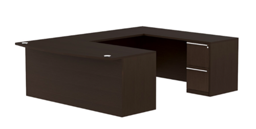 Cherryman Verde VL-648N U Shaped Office Desk (Reversible Design)