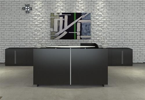 Cherryman Verde VL-751N Modern Reception Desk with Storage