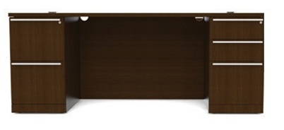 "Cherryman VL-607N Verde Collection 72"" Executive Desk"