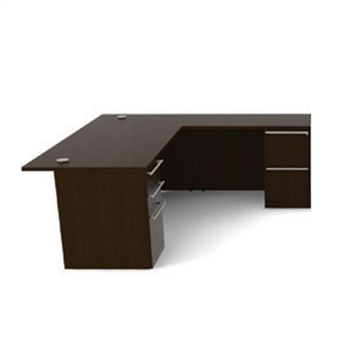 Cherryman VL-621N Verde Series L Desk with Pedestals