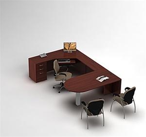 Global Zira U Shaped Desk