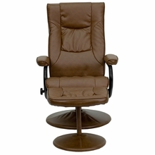 Flash Furniture Palimino Leather Recliner with Ottoman