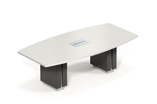 Global Zira Z4896BE Two Tone Conference Table (Available With Power!)