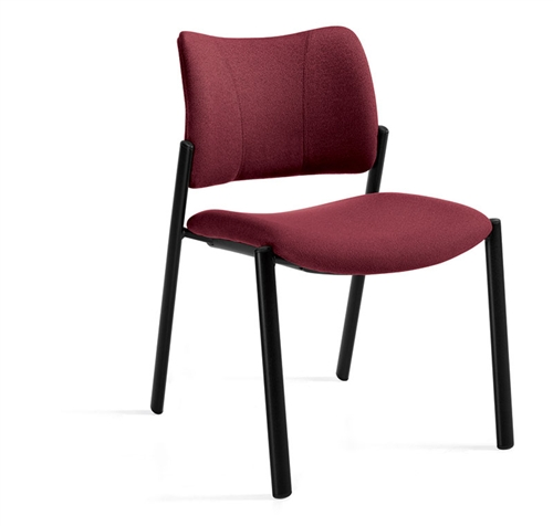 Global Zoma Armless Side Chair 6657