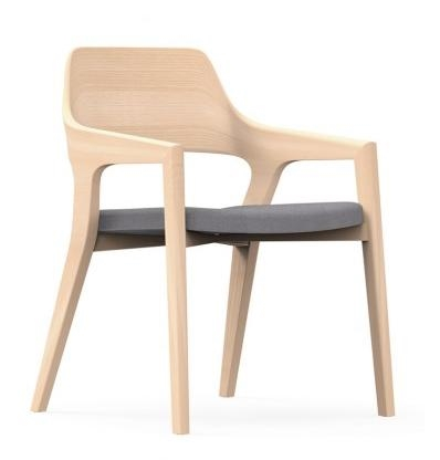 iDesk Crazy Horse Contemporary Wood Guest Chair CRZ505