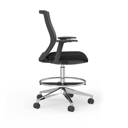 iDesk Oroblanco 405B Hi Task Mesh Drafting Chair