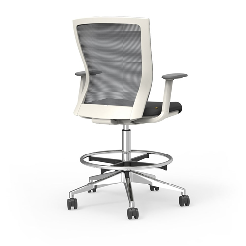 iDesk Oroblanco 405W Hi Task Ergonomic Drafting Chair