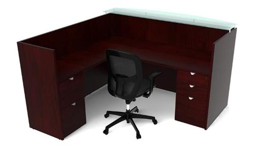cherryman jade reception desk