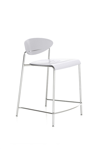 Indiana Furniture Plastic Counter Height Stool 528 (3 Color Options!)