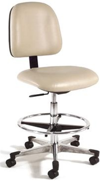 Intensa 812 Adjustable Laboratory Chair with Foot Ring