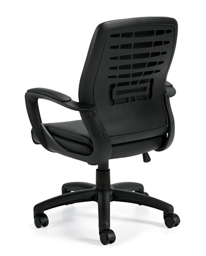 Luxhide Managerial Chair OTG11975B by Offices To Go